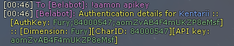 AAMon apikey command